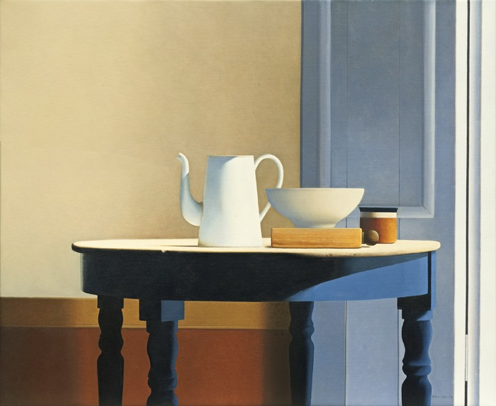 Wim Blom Table in Sunlight 28x38
