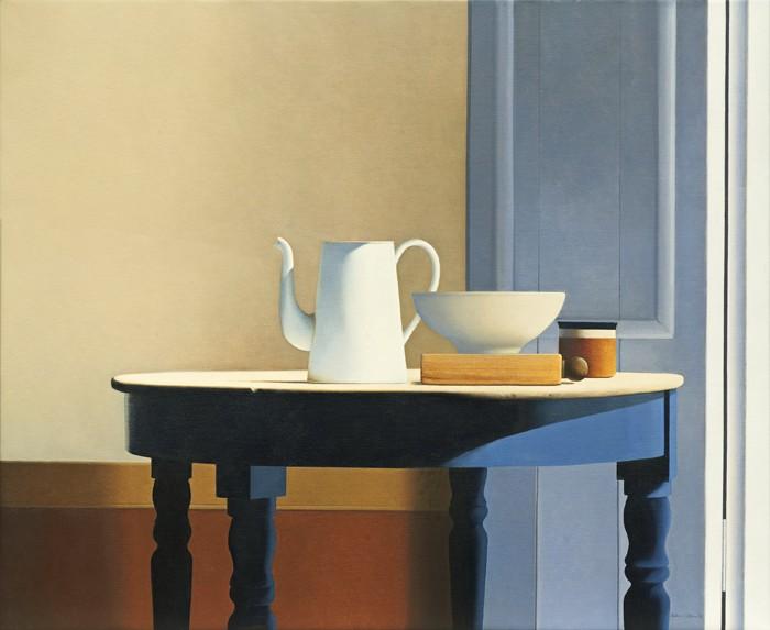 Wim Blom Table in Sunlight 28x38