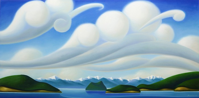 Dana Irving Atmosphere 24x48