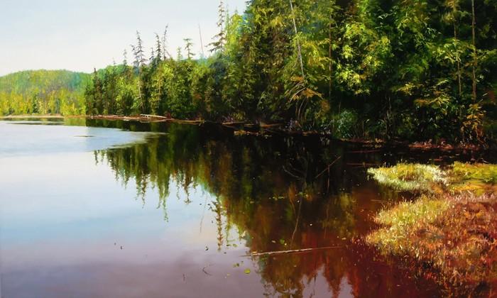 Erika Toliusis BC Lakes # 11 36x60
