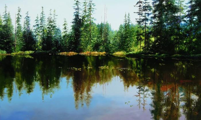 Erilka Toliusis BC Lakes #7 36x60