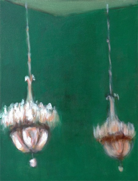 Eri Ishii Chandeliers in Green Room 18x14