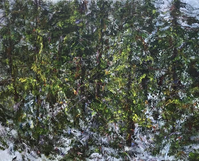 Judy Cheng Coastal Forest 50x60
