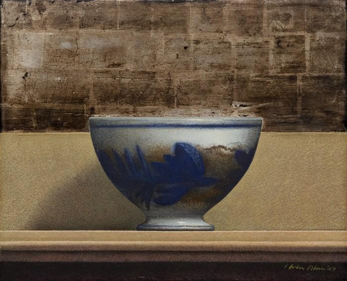 Wim Blom Flo blue 9x11