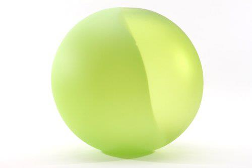 Jay Macdonell Apple Green and Lime Green Two Toned Sphere 14""