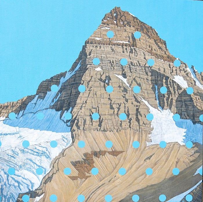 David Pirrie Mt Assiniboine Late Summer Rockies 30x30