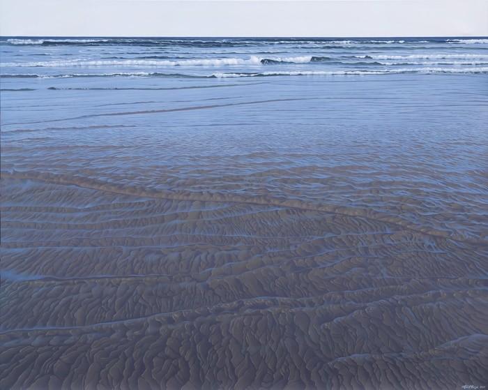 Carol Haigh Sand and Sea 48x60