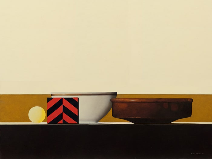 Wim Blom Shelf with Spanish bowl