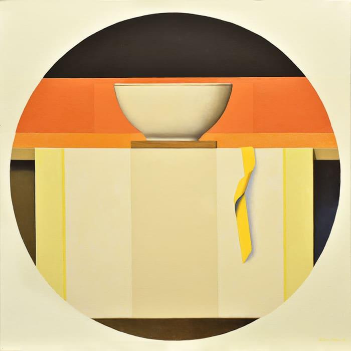 Wim Blom Shelf with bowl