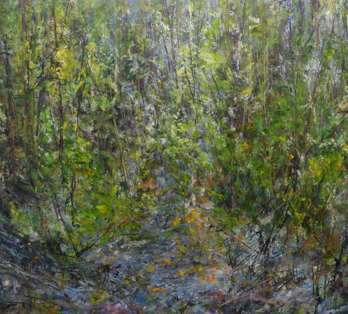 Judy Cheng Squamish Trail I 48x42
