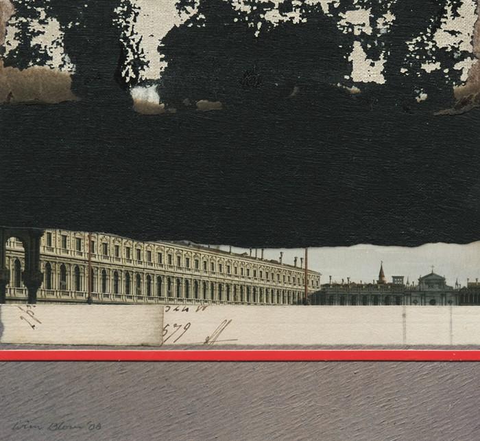Wim Blom Storm over Venice collage 8x7