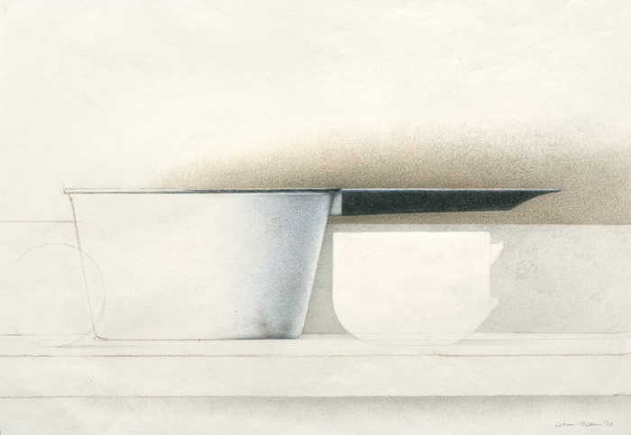 Wim Blom Study for a still life 9x13