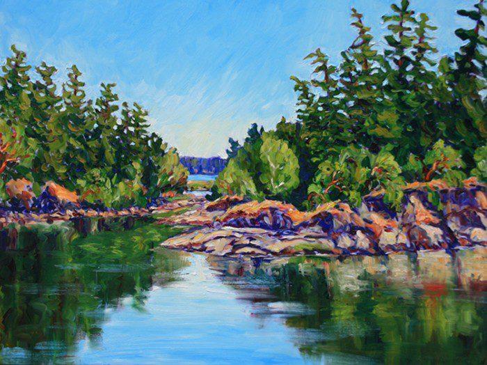 Patty Amlpleford Painting