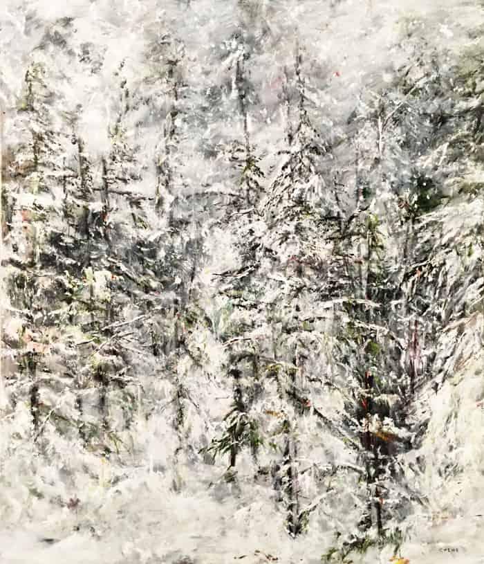 Judy Cheng Summit 60x50