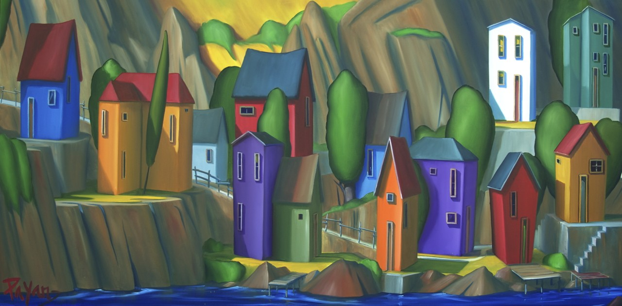 The Battery, St. John's Harbour, NFL 30x60