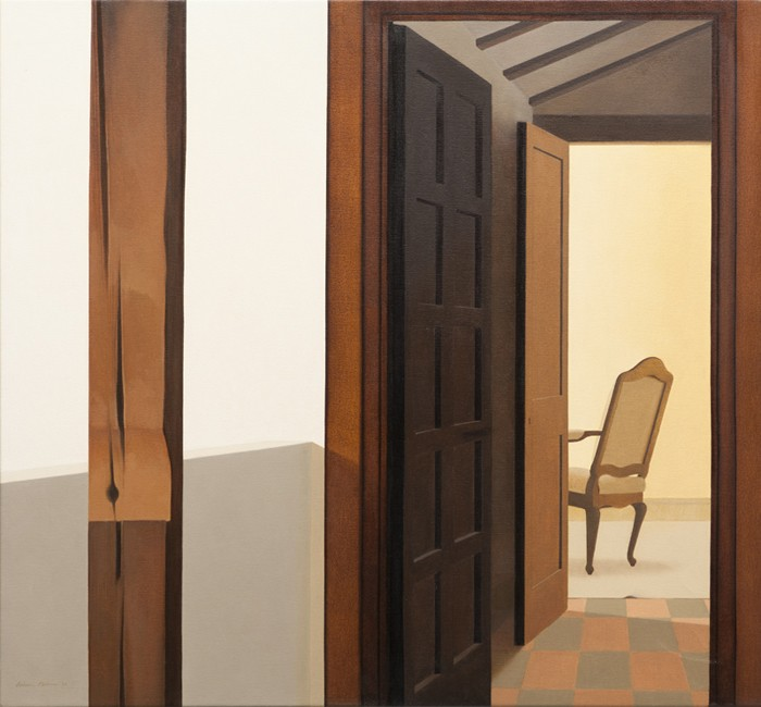 Wim Blom The inner room 26x28