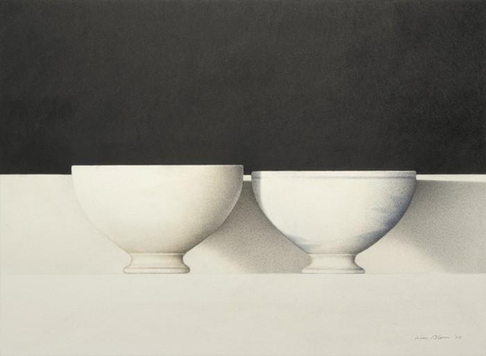 Wim Blom Two bowls 12x16