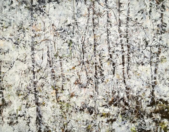 Judy Cheng Winter III Painting