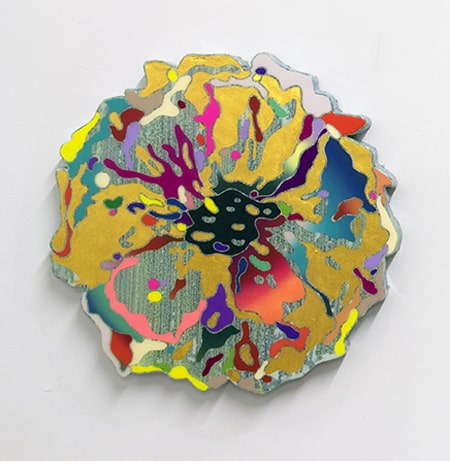 Suzy Kim Blooming Apparatus Relief I