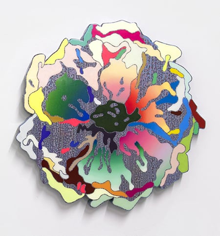 Suzy Kim Blooming Apparatus Relief II