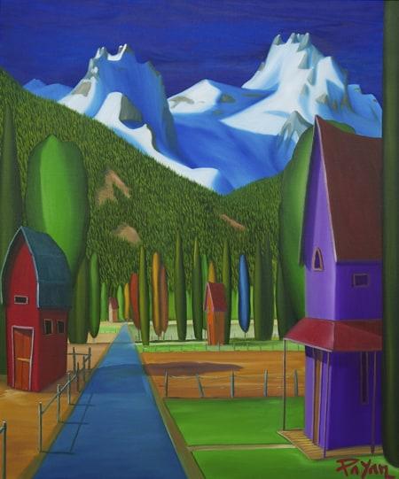 Glenn Payan pemberton-meadows-view-36x30
