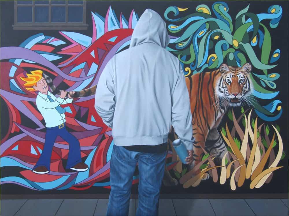Jana MacDonald Tiger By The Tail