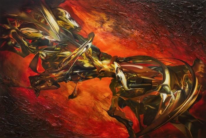 Vladimir Kraynyk Ignis Mundi 48x72