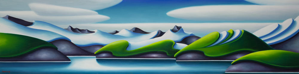 Dana Irving A Perfect Day 18x72