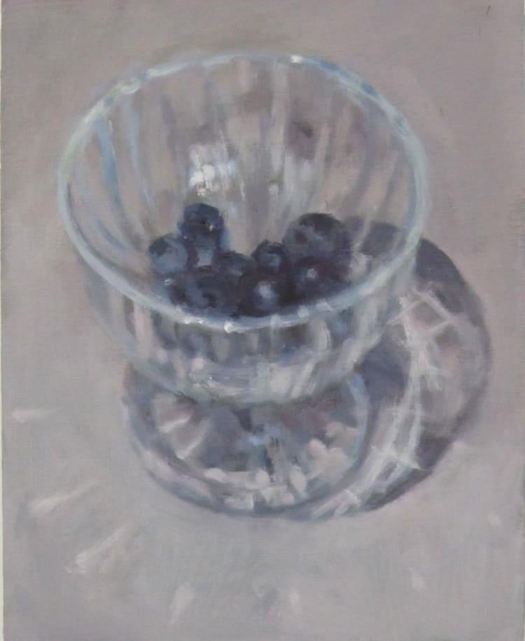 Eri Ishii Blueberries In Glass