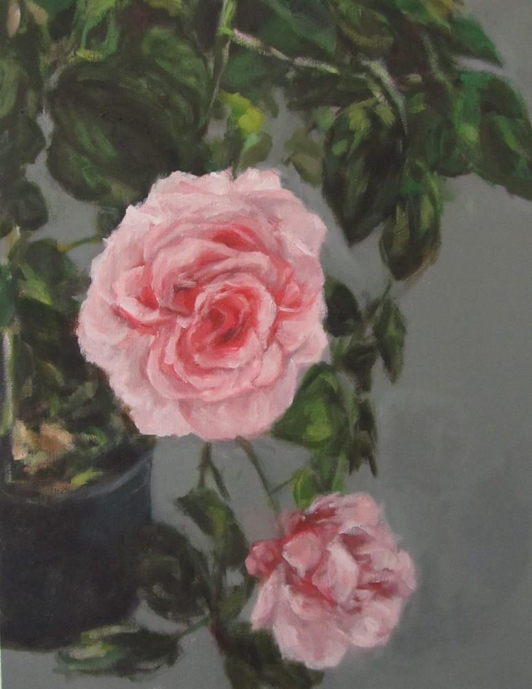 Eri Ishii Roses On Balcony