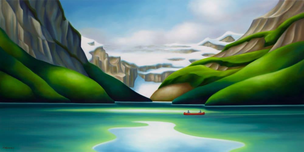 Dana Irving Picnic on the Lake