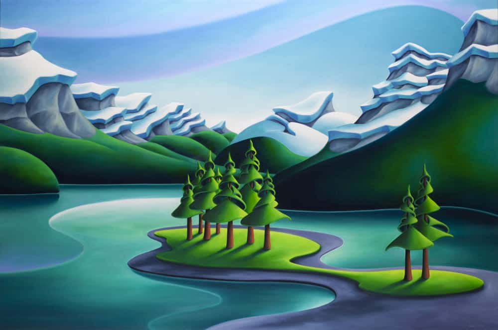 Dana Irving Sentimental Journey 40x60