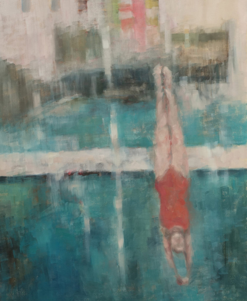 Eri Ishii Swimming Pool 42.5x34.5