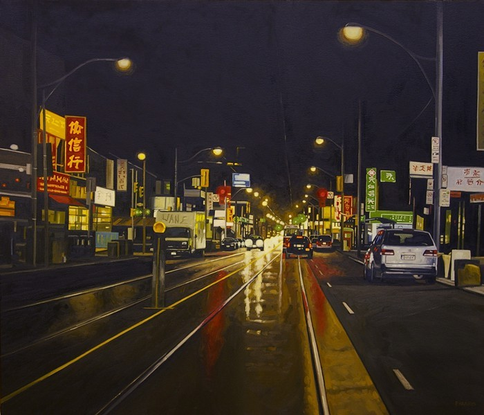 Peter Harris chinatown-1130pm-36x42