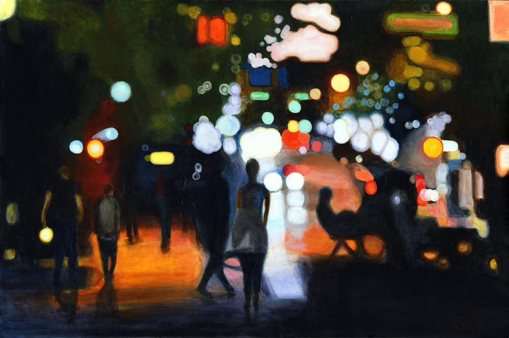 Johnathan Gleed City of Lights 24x36