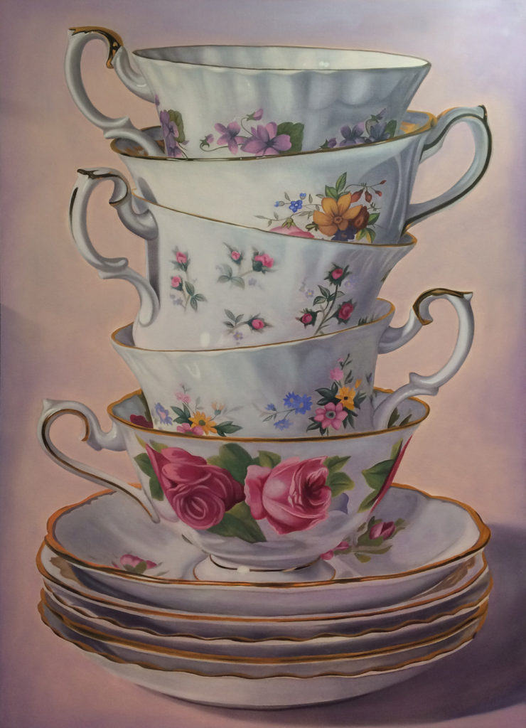 Jeff Chester Stacked teacup
