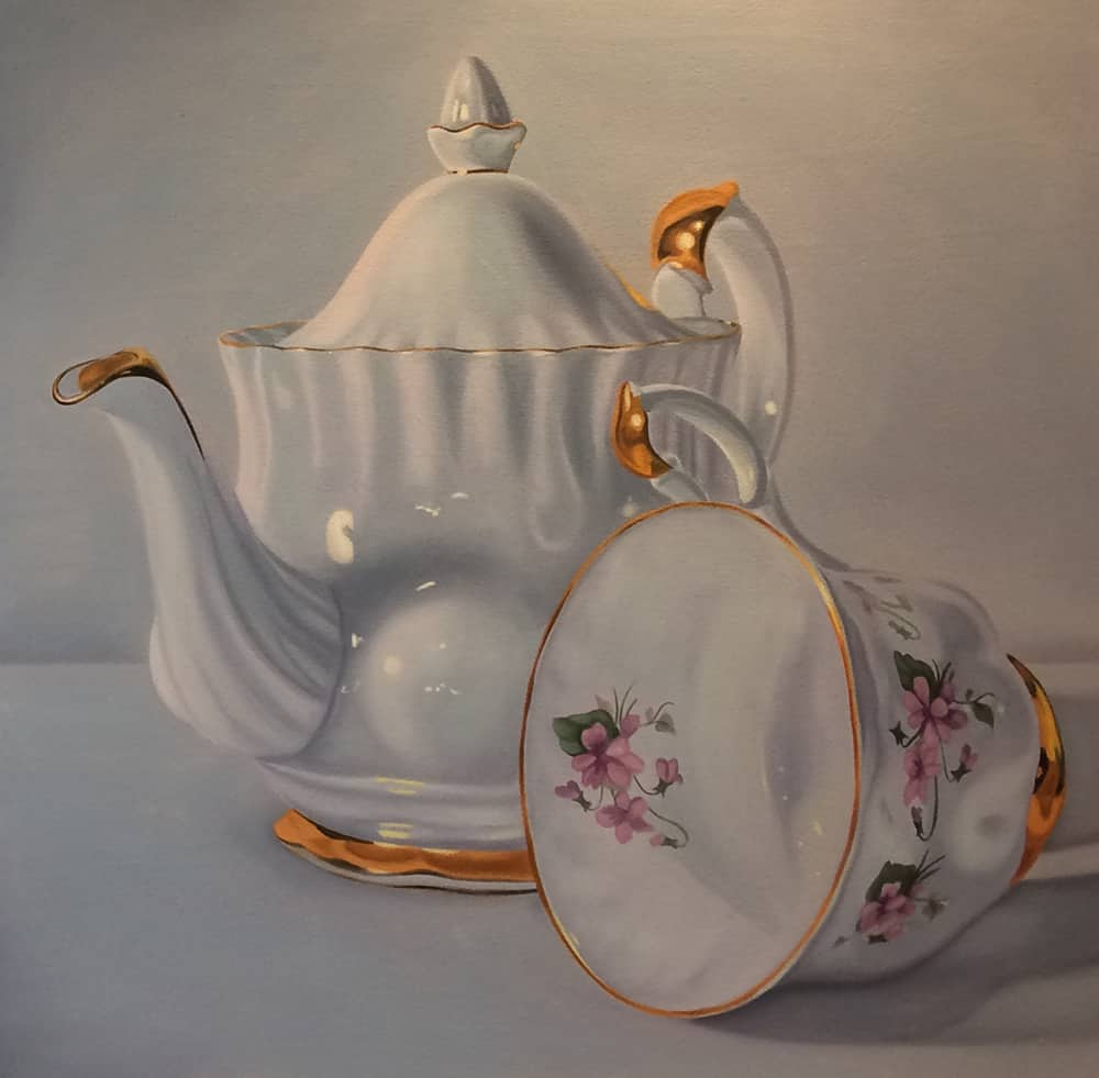 Jeff Chester Teapot with cup