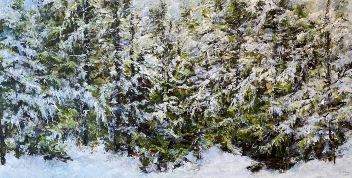 Judy Cheng Fresh Snow Fall