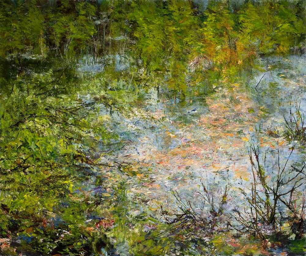 Judy Cheng Pond 60x72