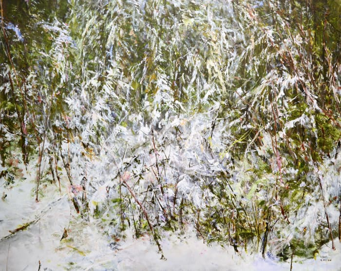 Judy Cheng snow-trail-iii-48x60