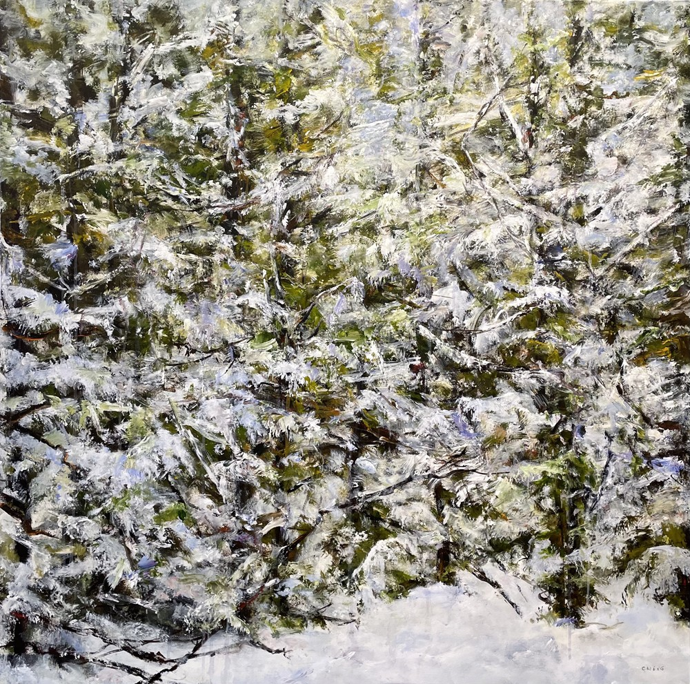 Judy Cheng Snow Scene I