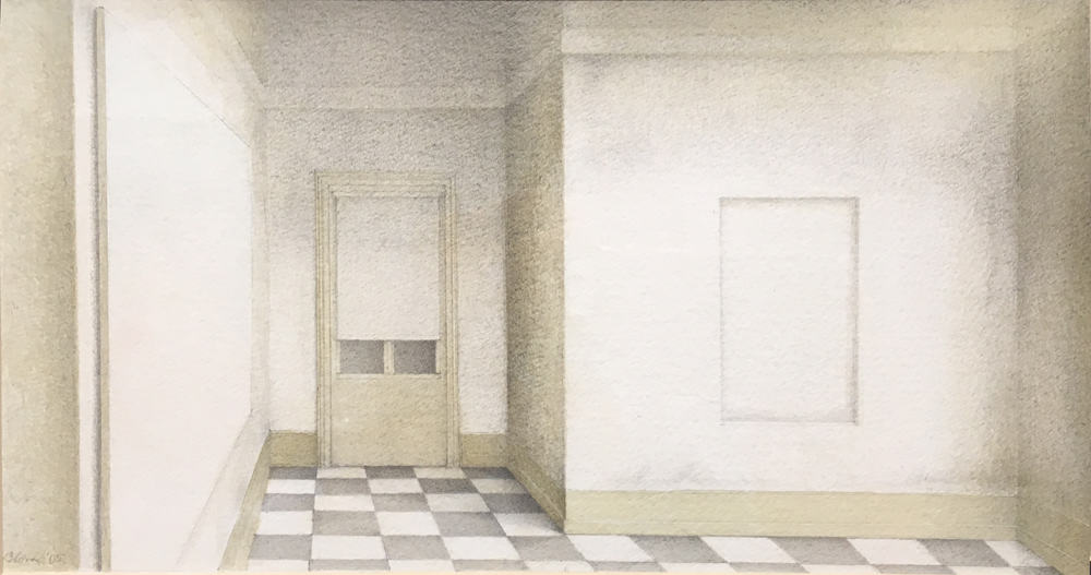 Wim Blom An empty room