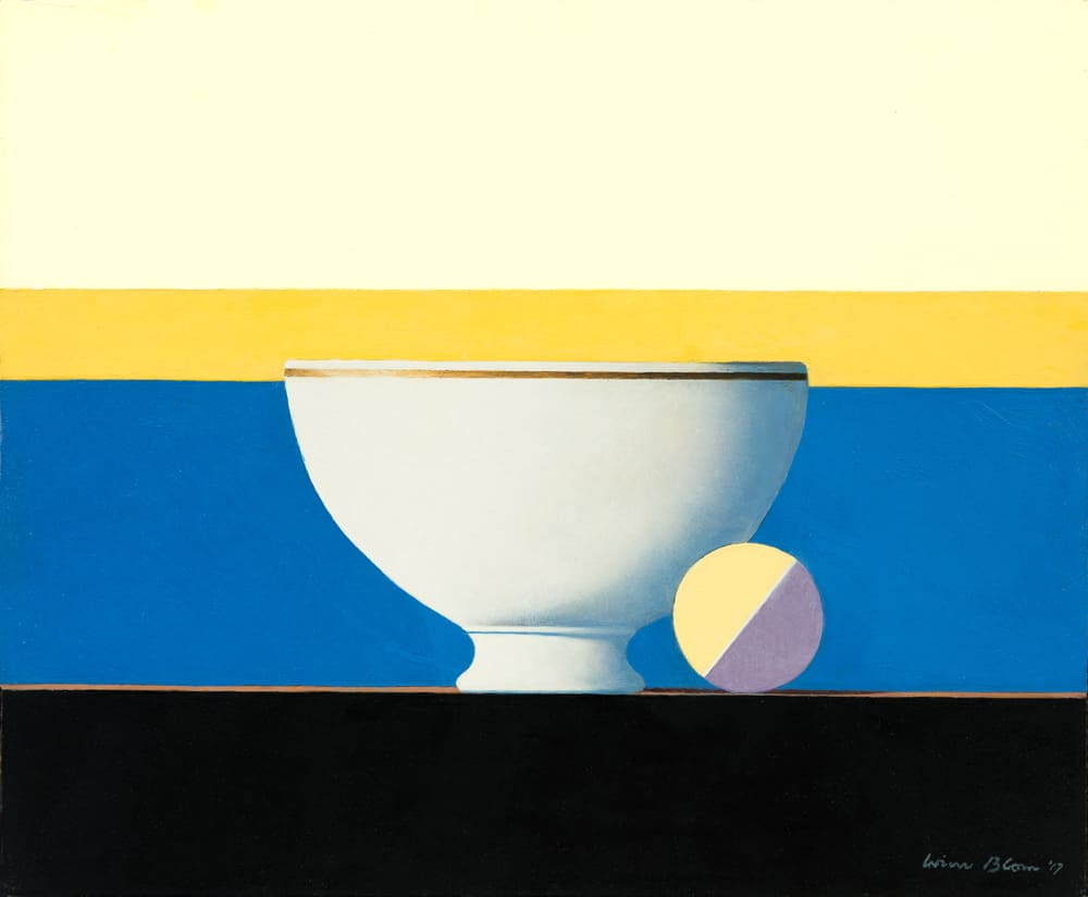 Wim Blom Bowl And Colour Disk