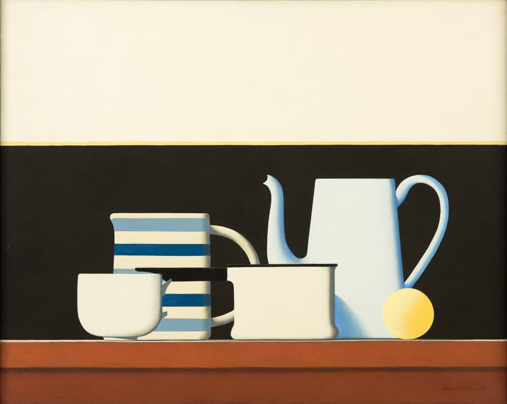 Wim Blom On A Small Shelf