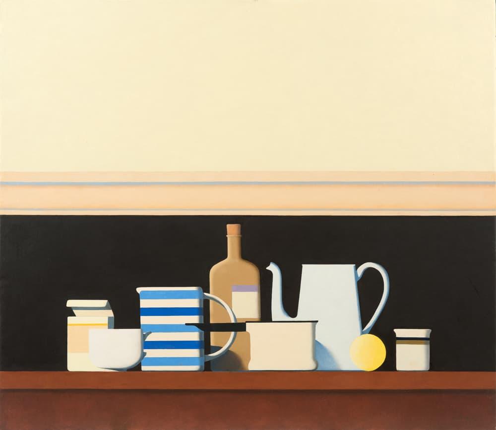 Wim Blom Still Life On A Shelf
