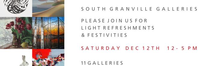 SGGA Holiday Show: Deck the Walls, Dec 12th