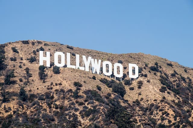 infamous hollywood sign