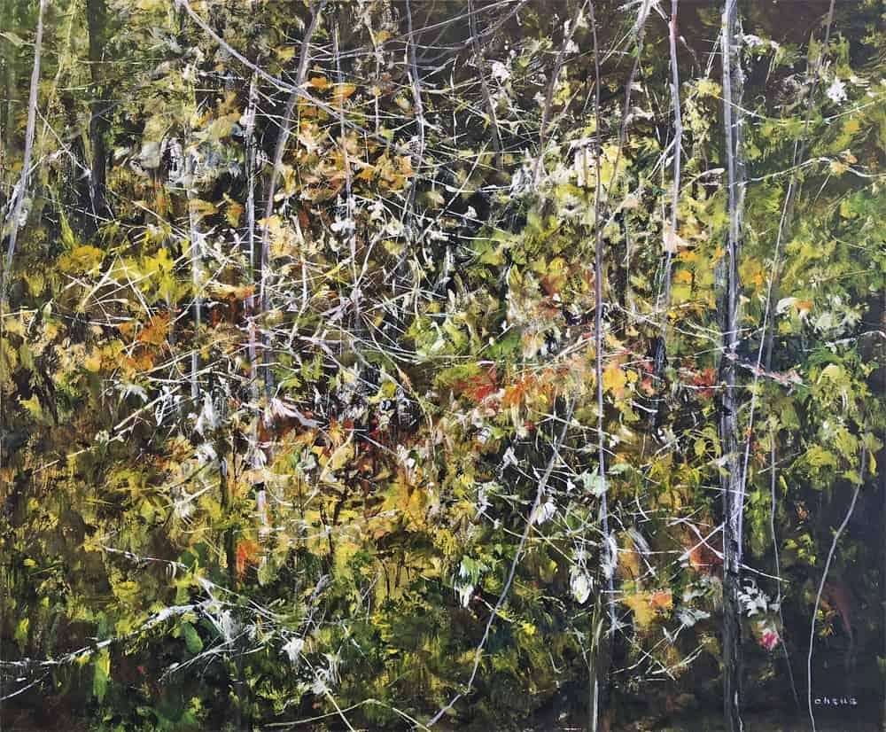 Judy Cheng Foliage I
