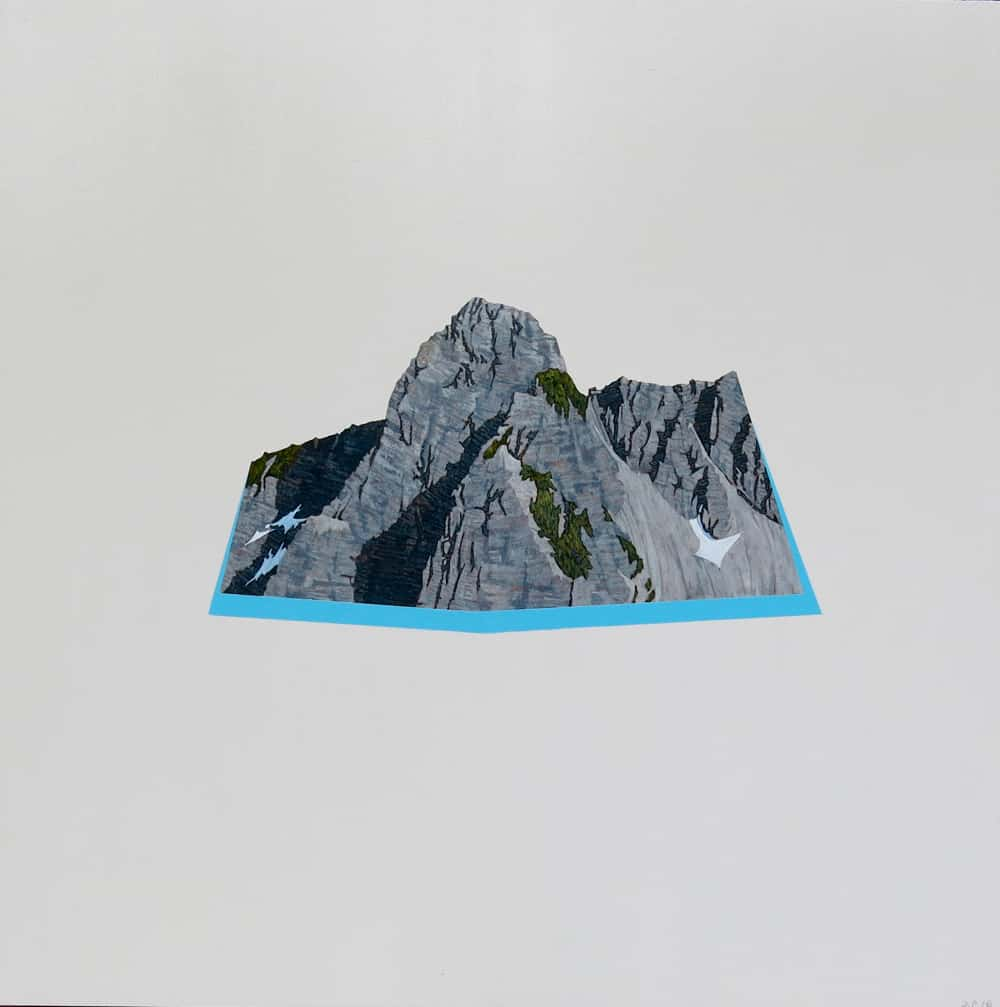 David Pirrie Still Life With North Shore Mtn The Lions Buttress