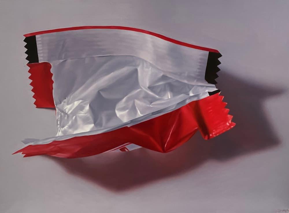 Anselmo Swan Kit Kat wrapper